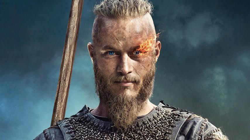 Travis Fimmel comme Ragnar Lothbrok.