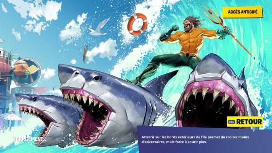 Écran de chargement Aquaman - Fortnite: Battle royale