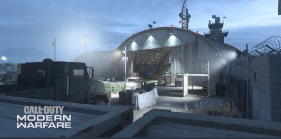 Base aérienne.  - Call of Duty: Guerre moderne