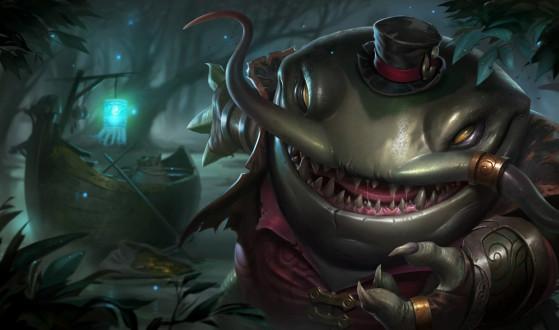 Tahm Kench a une mise à jour jouable en cours - League of Legends